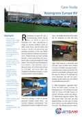 JETCAM case study on Rosengrens Europe B.V