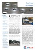 JETCAM case study on W.Ten Ham Staalconstructies En Plaatwerk